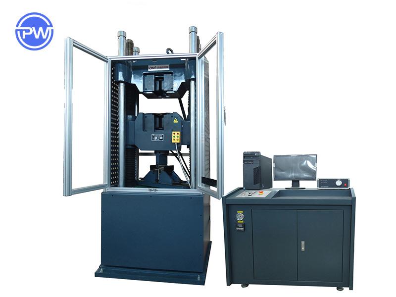 PW-300Y 全防护微机控制电液伺服液压万能试验机